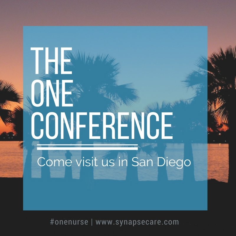 The One Conference: Come See Us in Gorgeous San Diego