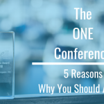 The One Conference :: 5 Reasons Why You Should Attend!